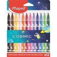 Filctoll készlet Maped Color Peps - 2,8 mm vonalvastagság - 12 szín - Cosmic