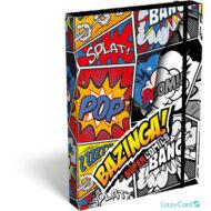 Bazinga A5 füzetbox - Supercomics