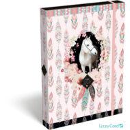 Lovas A4 füzetbox - Wild beauty rose