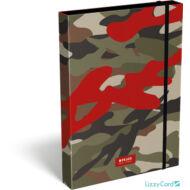 Terepmintás A4 füzetbox - Peace Red Label