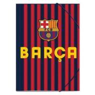 Barcelona csíkos A4 gumis mappa - Barca