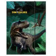 Dinoszaurusz - dínós A4 gumis mappa