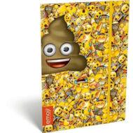 Emoji Poop gumis mappa - A4
