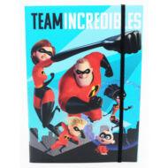 A hihetetelen család gumis mappa A5 - Incredibles Family
