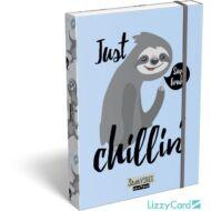 Lajháros A5 füzetbox - Lollipop Sloth Vibes