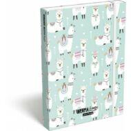 Lollipop Drama Lama füzetbox - A4 - Lámás