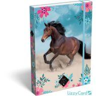 Lovas A4 füzetbox - Wild Beauty Blue