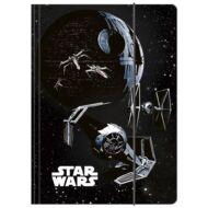 Star Wars A4 gumis mappa