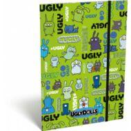 Undipofik gumis mappa A5 - Ugly Dolls