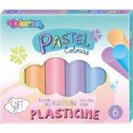 Gyurma készlet színes pasztell 6 db/csomag - Colorino Pastel