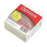 Öntapadós jegyzettömb - 400 lapos pasztell mix post-it 76x76 mm - Optima