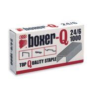 Tűzőkapocs 24/6 - Boxer-Q - 1000 db/csomag