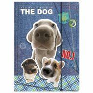 The Dog kutyás A4 gumis mappa - kutya