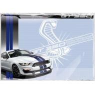 Asztali könyöklő - Ford Mustang jegyzetelhető füzetalátét - sportautós