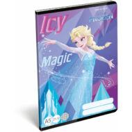 Jégvarázs kockás füzet - A5 - Frozen Icy