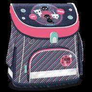 Think-Pink ergonómikus iskolatáska - Kompakt Easy táska mágneszárral - cicás