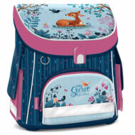 My secret garden ergonómikus iskolatáska - Kompakt Easy táska mágneszárral - őzikés