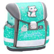 Belmil Classy merevfalú ergonómikus iskolatáska hátizsák - Sweet Kitty - cicás