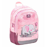 Belmil Kiddy Pink Elephant ovis táska, kirándulós hátizsák - elefántos
