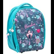 Belmil Sturdy ergonómikus iskolatáska hátizsák -  Paradise - Flamingós