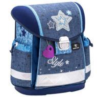 Belmil Classy merevfalú ergonómikus iskolatáska hátizsák - Style - csillagos