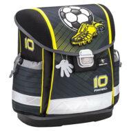 Belmil Classy merevfalú ergonómikus iskolatáska hátizsák - No.10 Football - focis