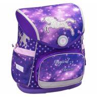 Belmil Compact merevfalú ergonómikus iskolatáska hátizsák - Magical Unicorn - Unikornisos