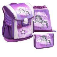 Belmil Customize-Me Unicorn merevfalú iskolatáska szett - testmagassághoz állítható - Unikornis