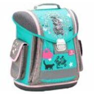 Belmil Sporty ergonómikus iskolatáska hátizsák - Hello - cicás