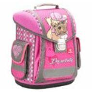 Belmil Sporty merevfalú ergonómikus iskolatáska hátizsák - I am so cute - kutya