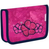 Belmil klapnis üres tolltartó - Tropical Pink - flamingós virágos