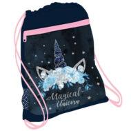 Belmil tornazsák sportzsák - Blue Magical Unicorn - unikornisos