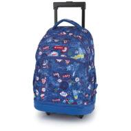 Gabol Bang ergonómikus gurulós iskolatáska hátizsák - 23 literes