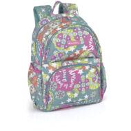 Gabol Mint Girl ergonómikus kialakítású hátizsák, iskolatáska - 19 literes
