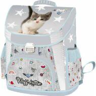Pet Fluff Kitten merevfalú ergonómikus iskolatáska 2019 - Cicás