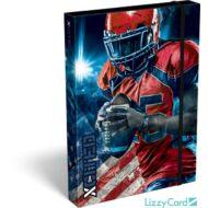Amerikai focis A4 füzetbox - X-cited Allstar