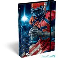 Amerikai focis A5 füzetbox - X-cited Allstar