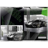 Ford GT A5 füzetborító zöld