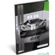 Ford GT kockás füzet - A4 - 87-32 - sportkocsis 2020 zöld