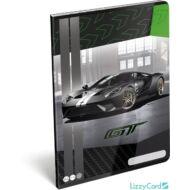 Ford GT vonalas füzet - A4 - 81-32 - sportkocsis 2020 zöld