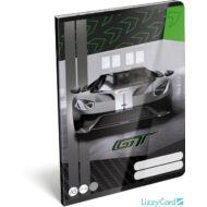 Ford GT kockás füzet 2020 zöld - A5 - 27-32