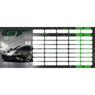 Ford GT órarend - mini - Sportkocsi 2020 zöld