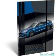 Ford Mustang Blue A4 gumis mappa 2020