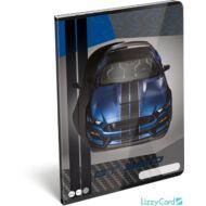 Ford Mustang Blue kockás füzet - A4 - 87-32 - sportkocsis 2020