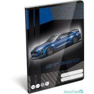 Ford Mustang Blue vonalas füzet 2020 - A5 - 3. osztályos / 12-32