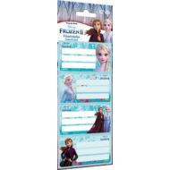 Jégvarázs füzetcímke Frozen II - 12 db / csomag