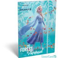 Jégvarázs A4 gumis mappa Frozen II