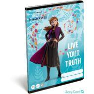 Jégvarázs sima füzet - A5 - 20-32 - Frozen II Believe