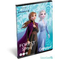 Jégvarázs szótár füzet - A5 - 31-32 - Frozen II Believe