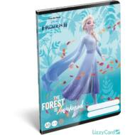 Jégvarázs vonalas füzet - A5 - 4. osztálytól / 21-32 - Frozen II Believe